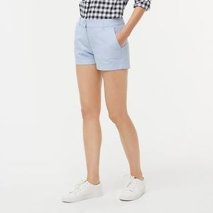 """J Crew 3"""" classic oxford short WORN ONCE"""